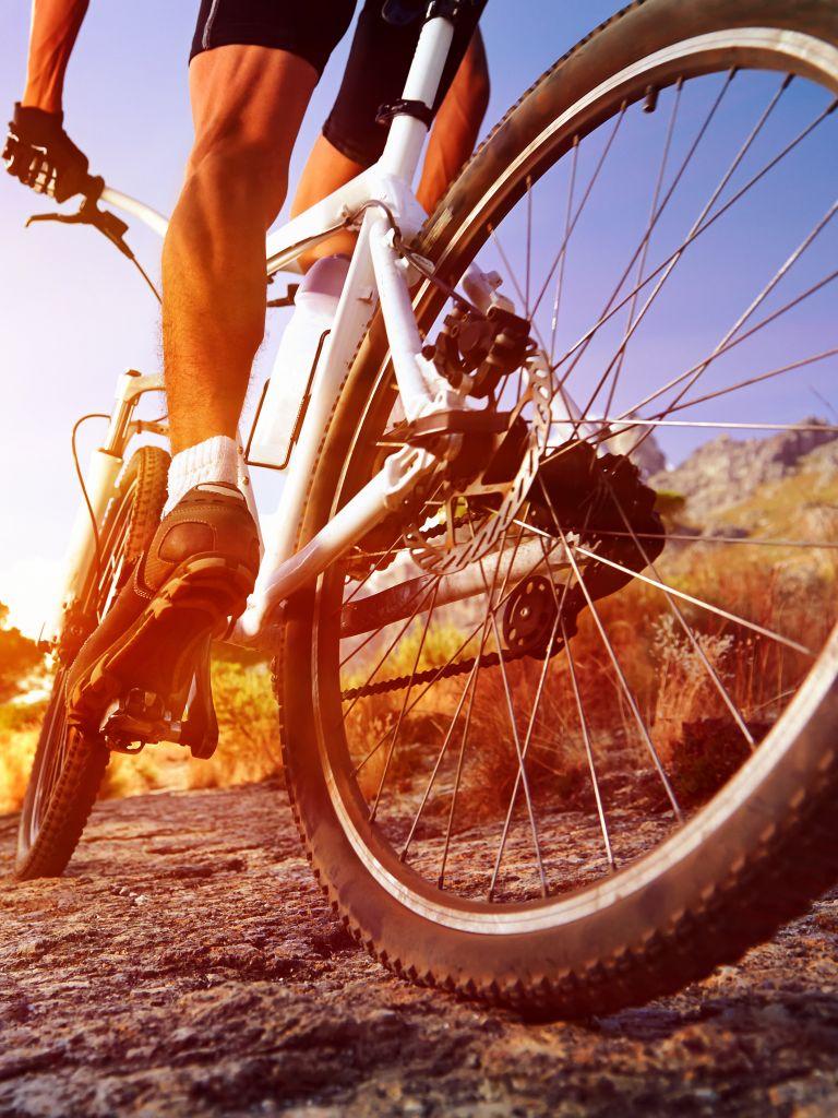 Fahrradfahrer on Tour